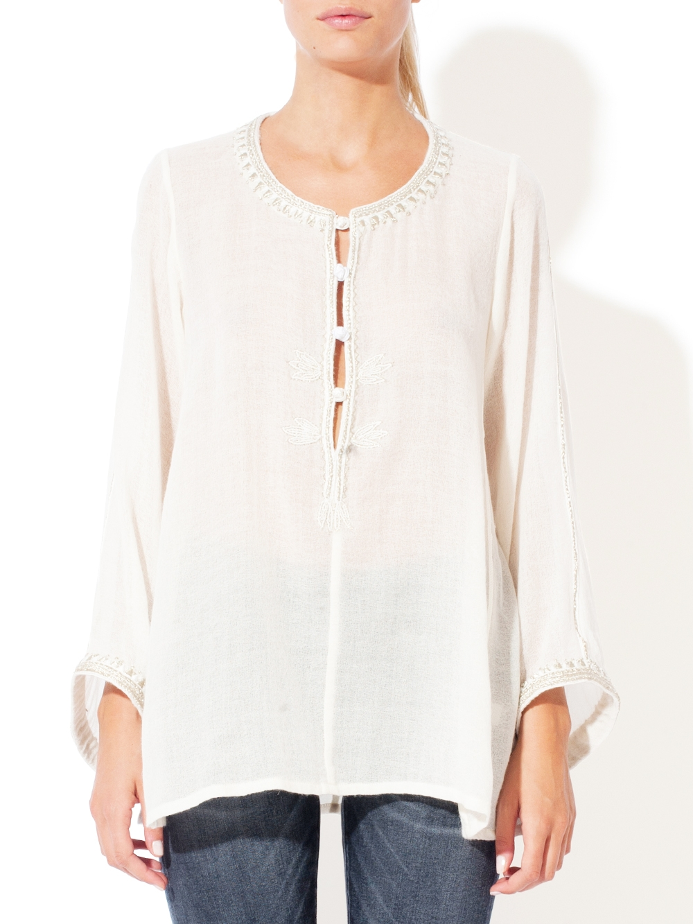 OPULENCE EMBROIDERED SHIRT