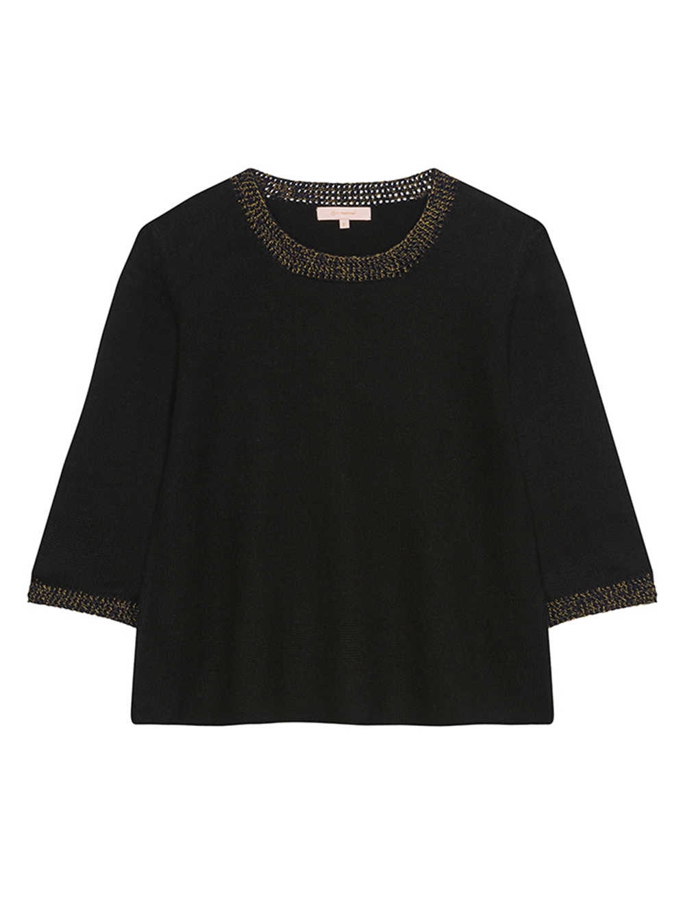 PULL FLARE CREW NECK JERSEY