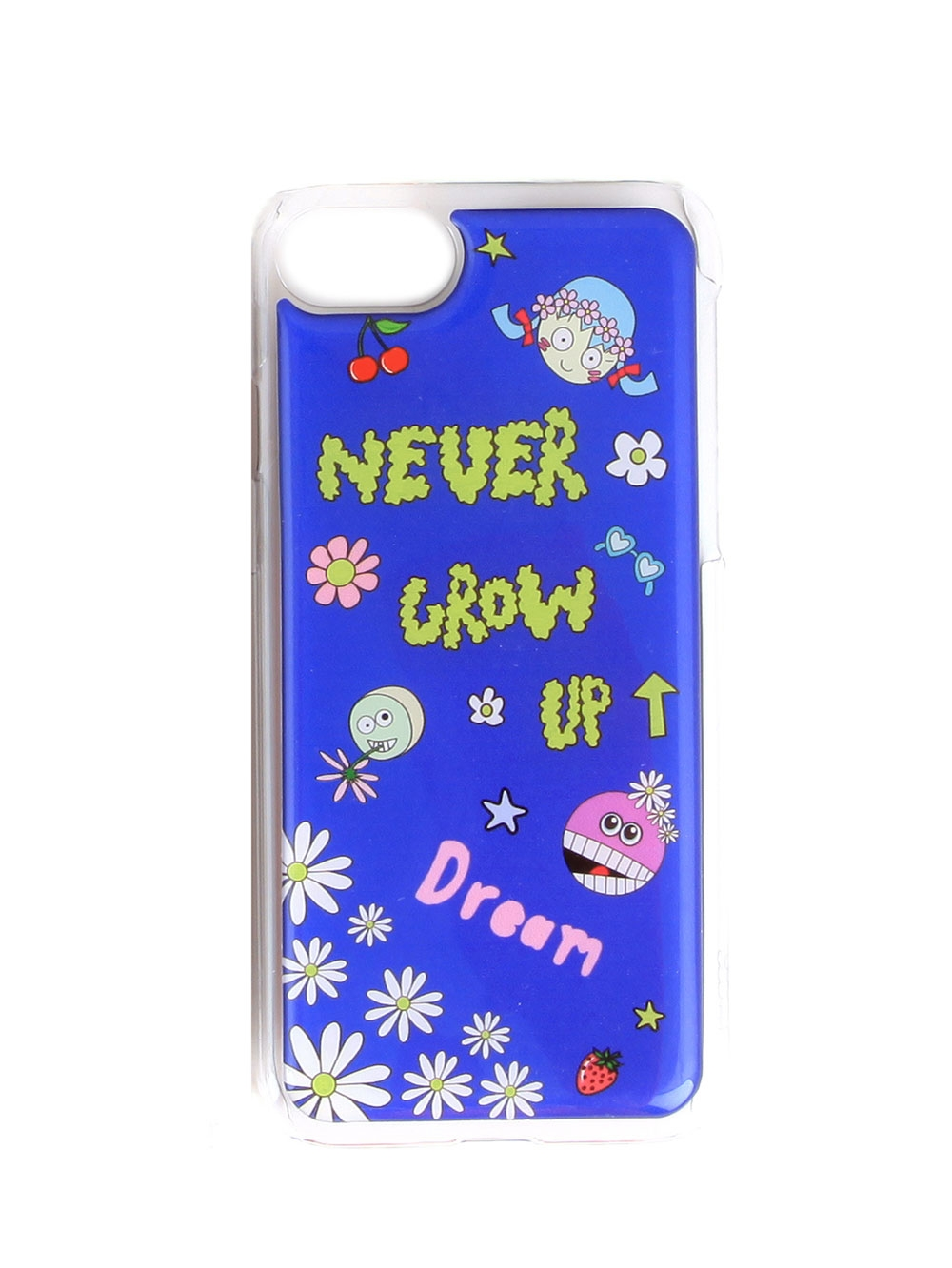 COQUE IPHONE 6/7 NEVER GROW UP