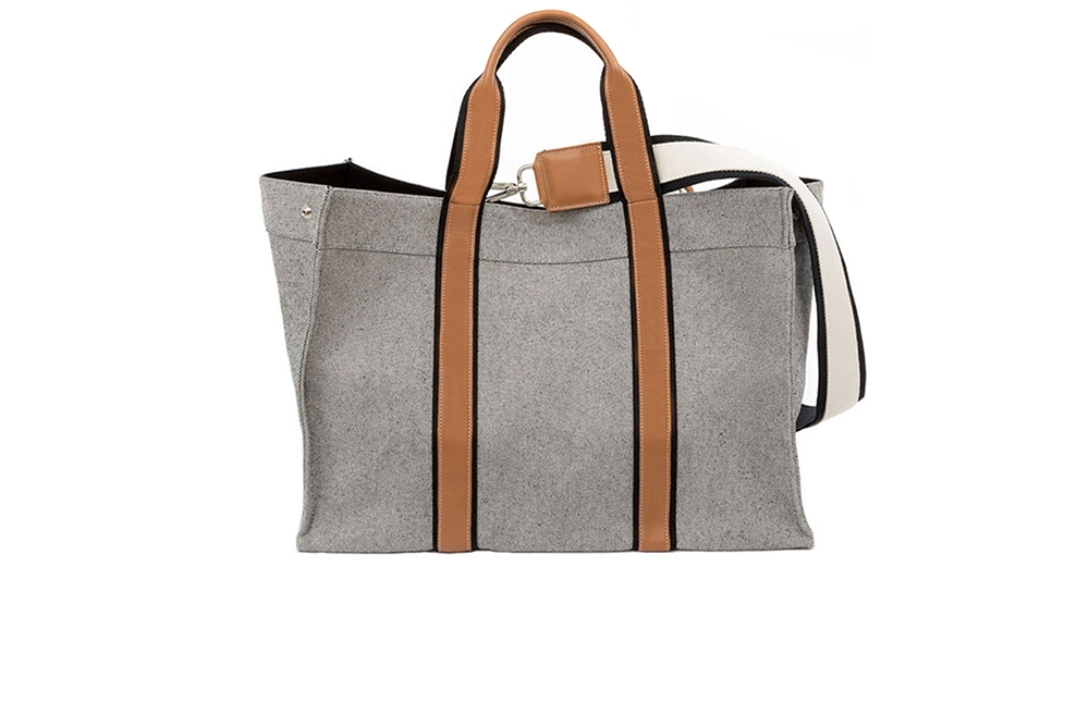 TOTE DE VOYAGE LEATHER MARB