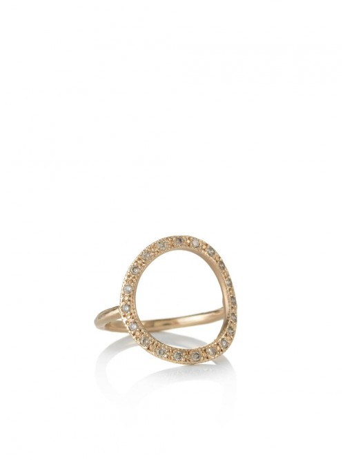 BAGUE INFINITY OR ROSE
