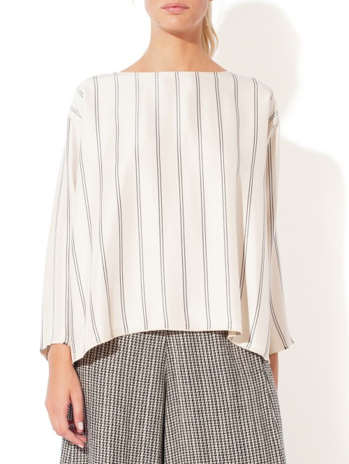 TOP ROUNDNECK STRIPE