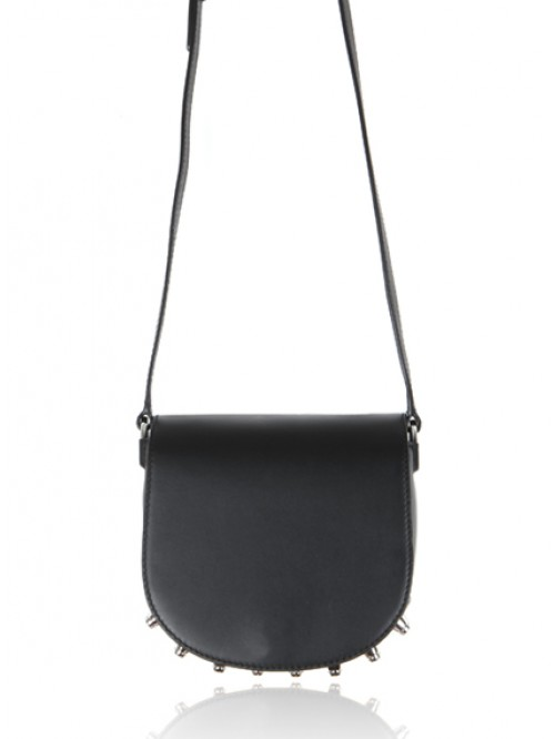 SAC MINI LIA BLACK SOFT DRAPE
