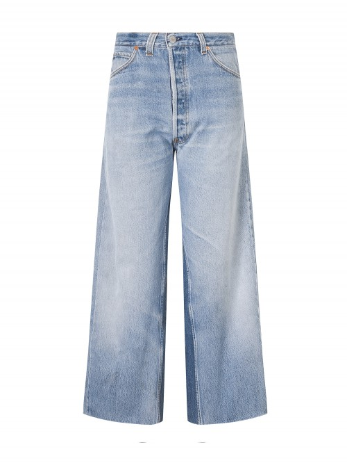 JEAN HIGH RISE WIDE LEG CROP