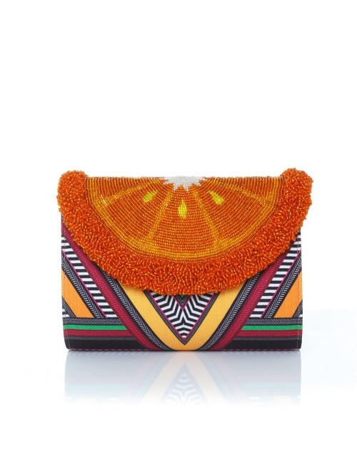 POCHETTE ORANGE TRIBE