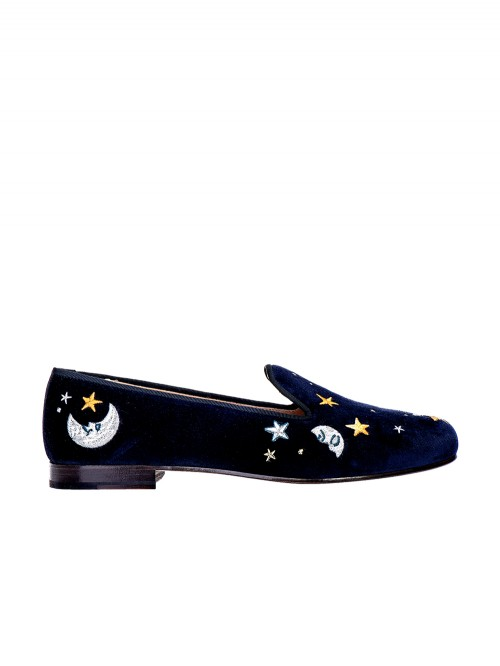 MOCASSIN GOODNIGHT NAVY