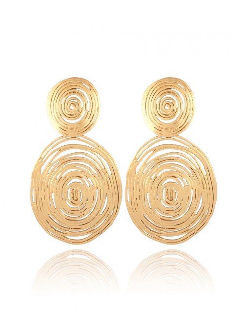 BOUCLES D'OREILLES WAVE OR