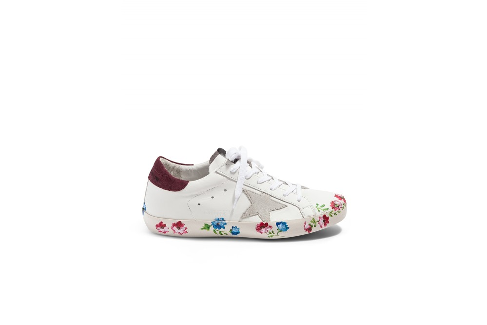 SNEAKERS SUPERSTAR FLEURS