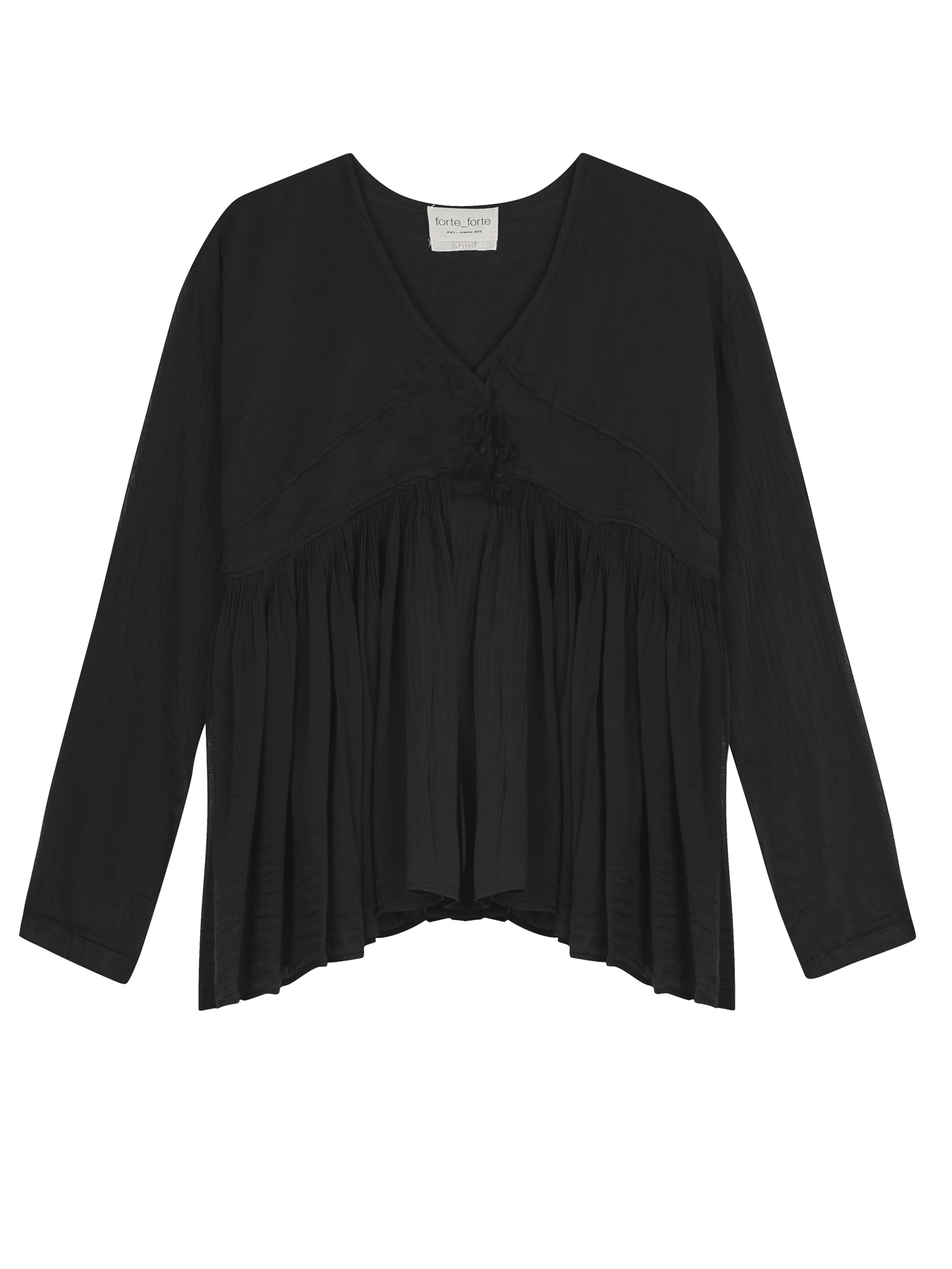 CHEMISE VOILE CURLED