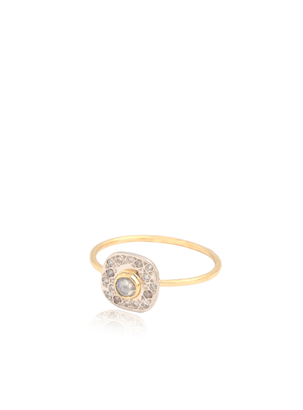 BAGUE PAVÉ DIAMANTS