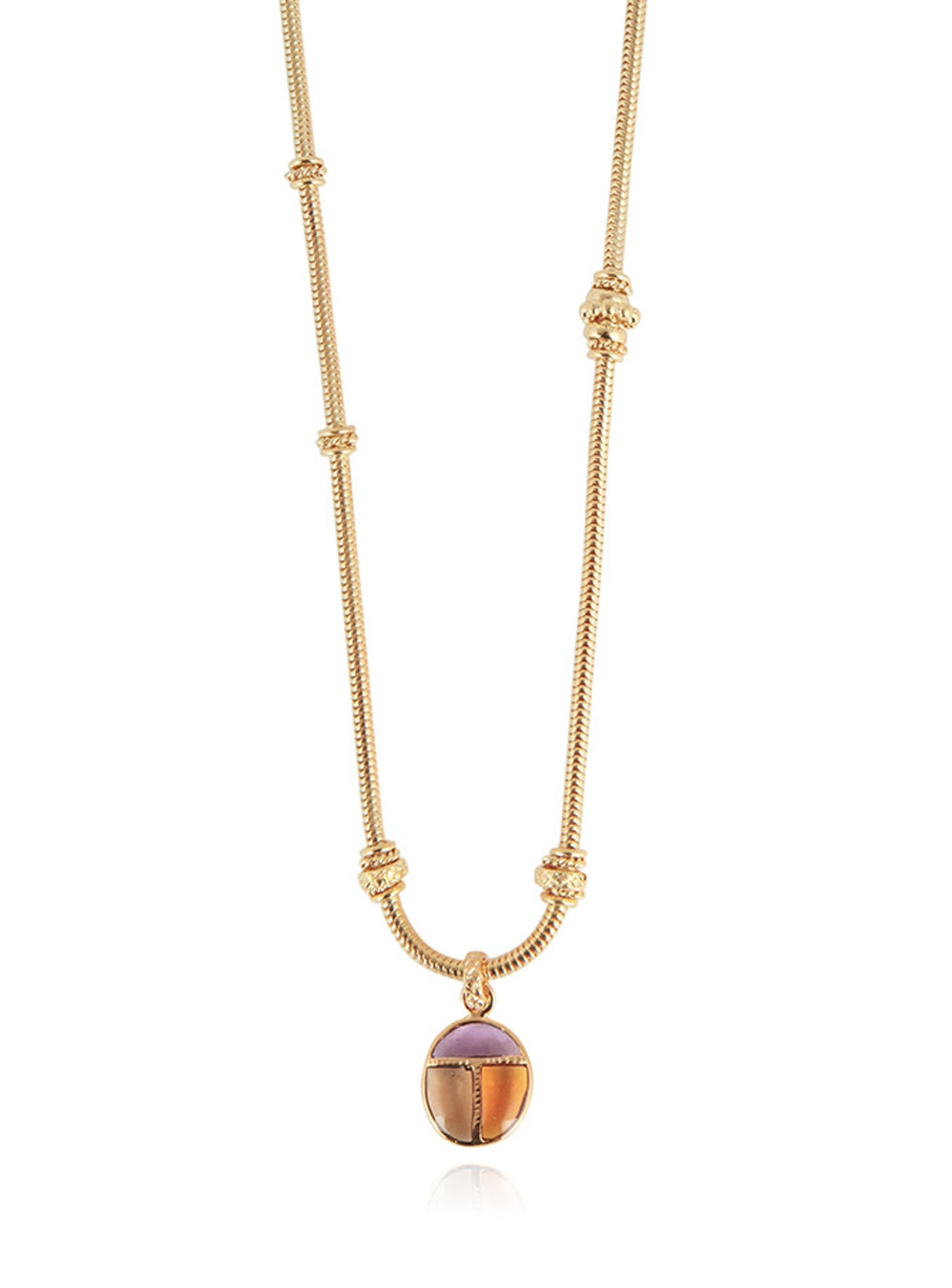COLLIER SCARABEO CHAINE O