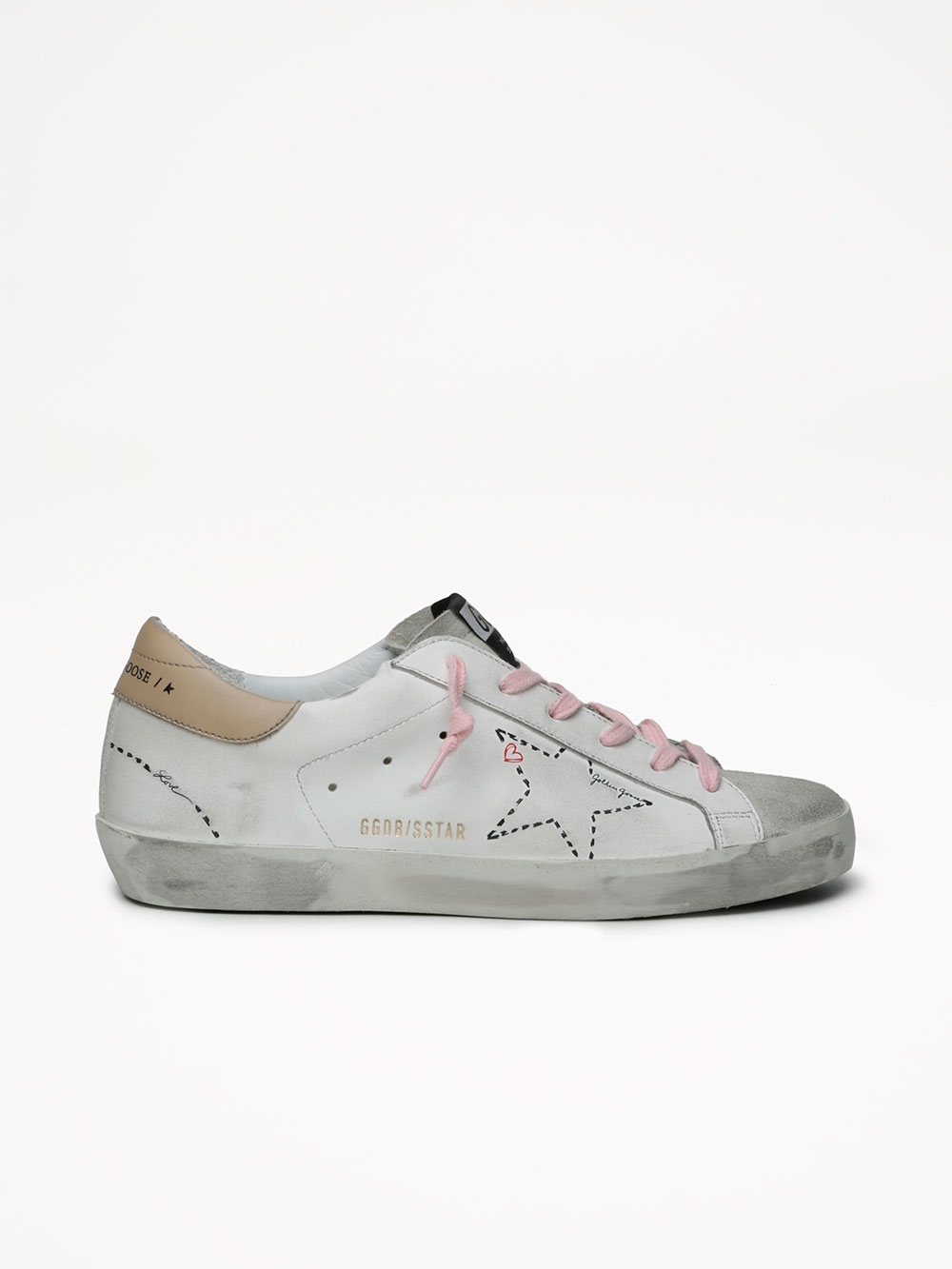 SUPERSTAR LEATHER UPPER DOTTED