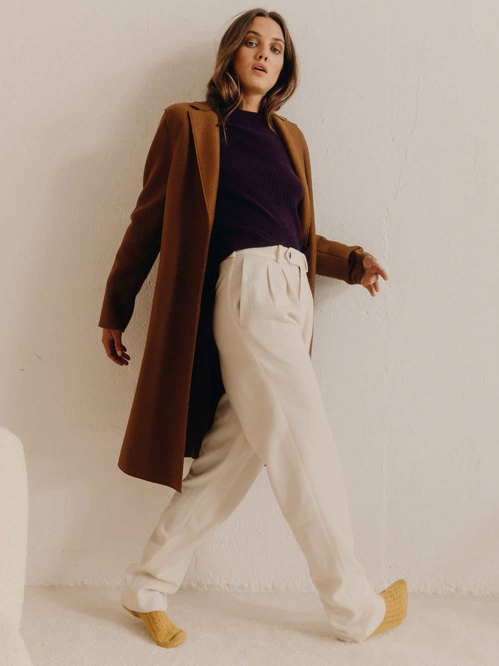 MANTEAU POLAIRE & PRESSED WOOL