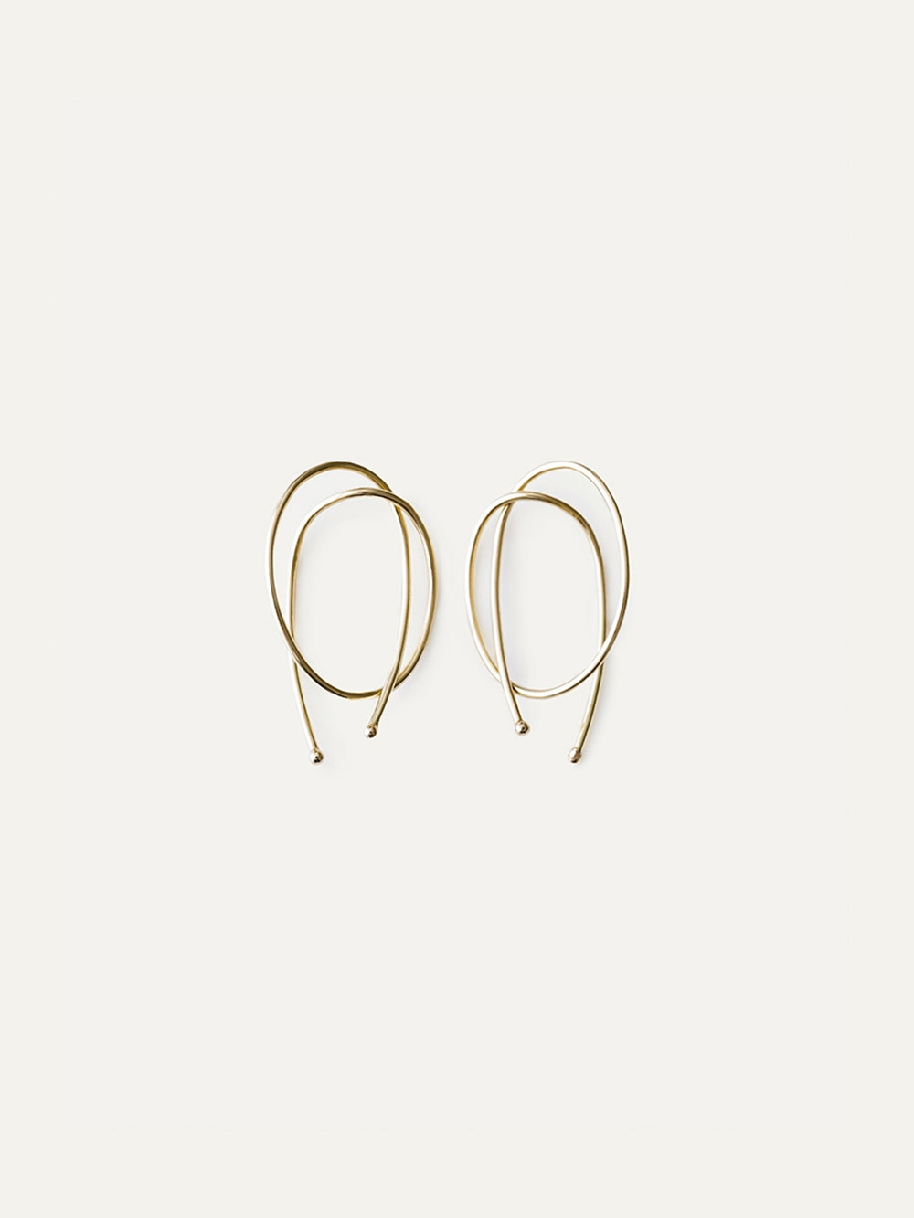 ROPE EARRINGS 14K