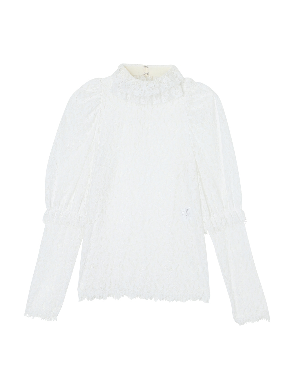 BLOUSE PIZZO VICTORIENNE