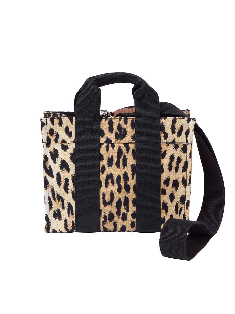 SAC BABY TOTE BANDOULIERE LEOPARD