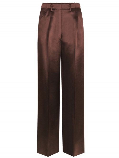 WIDE STRUCTURED PANTS