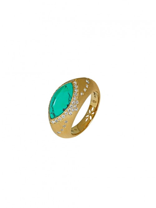 CHEVALIERE SULTANE TURQUOISE