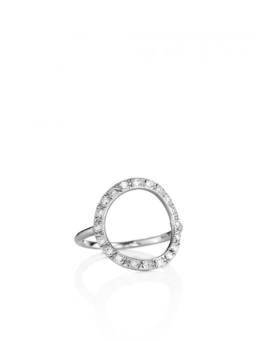 BAGUE CERCLE EN DIAMANTS