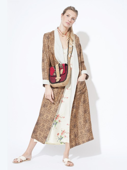 ROBE MANTEAU JUNGLE