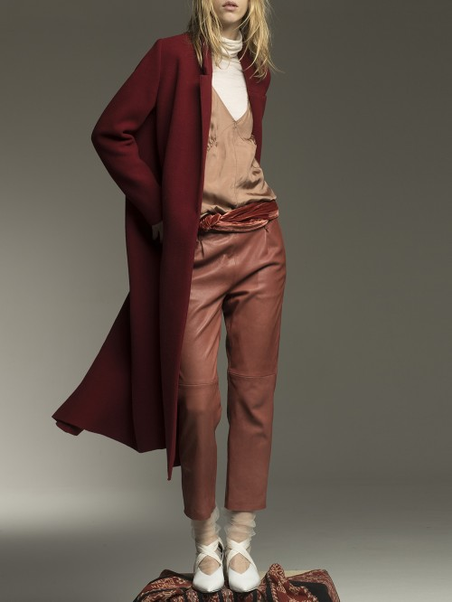 MANTEAU LONG CLOTH WOOL