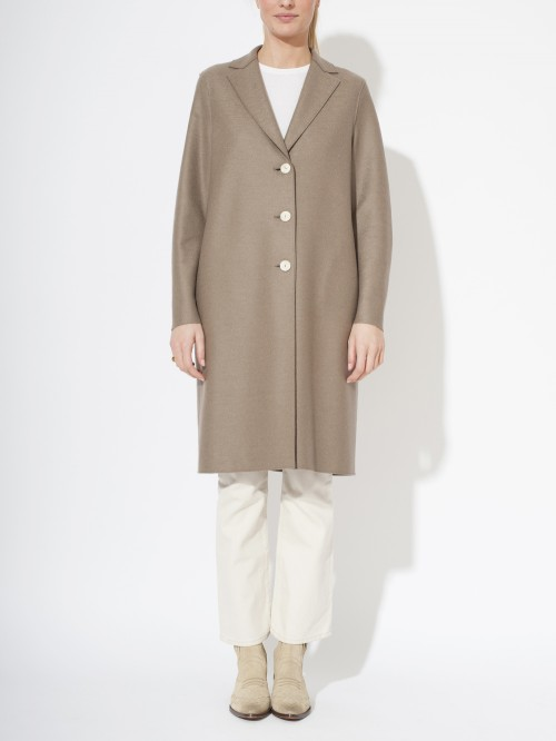 MANTEAU LIGHT PRESSED WOOL