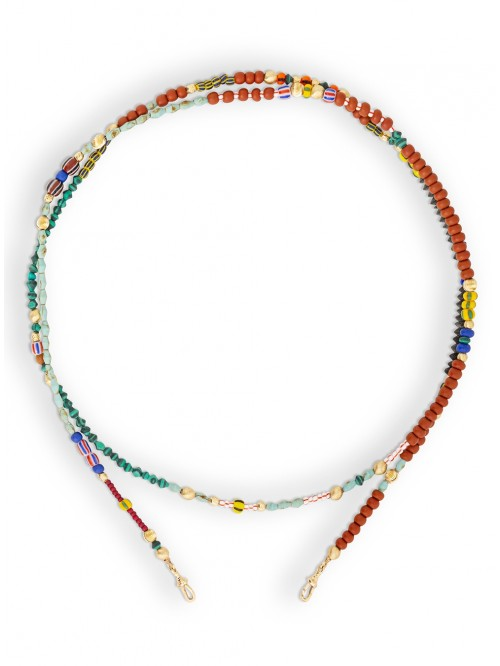 CHAINE AFRICA PERLES LONG
