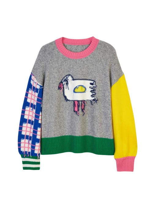 SWEAT OISEAU COLOR BLOCK