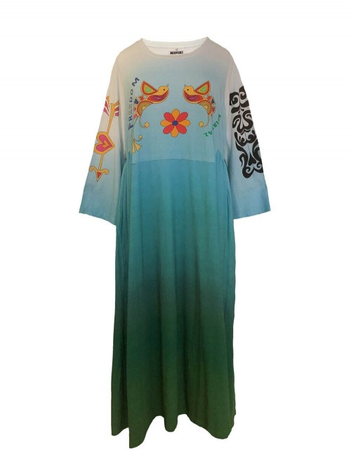 ROBE TIE AND DYE FREEDOM
