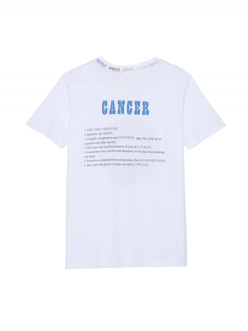 TEE SHIRT SIGNE ASTRO CANCER