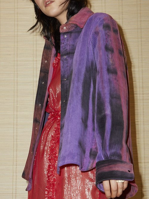 CHEMISE TIE AND DYE LUCIEN