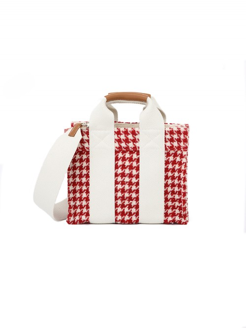 SAC BABY TOTE HOUNDSTOOTH