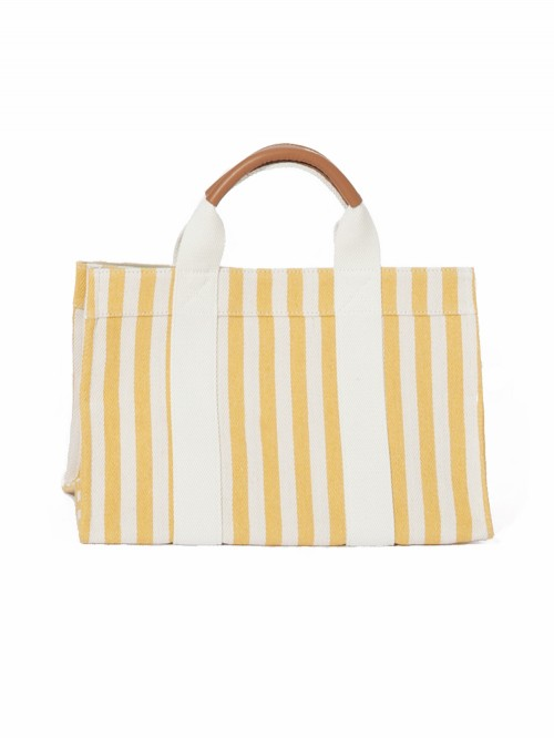 SAC MINI TOTE CHEVRON STRIPE