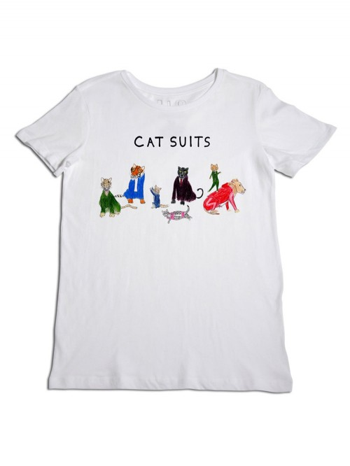 TEE SHIRT CAT SUITS