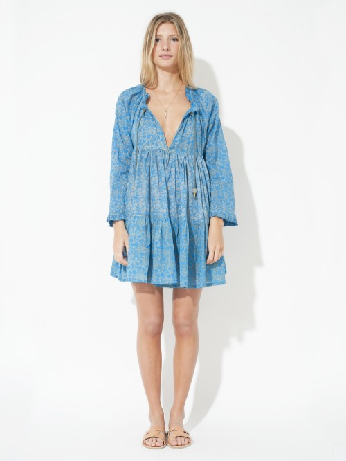 ROBE MINI HIPPYDRESS