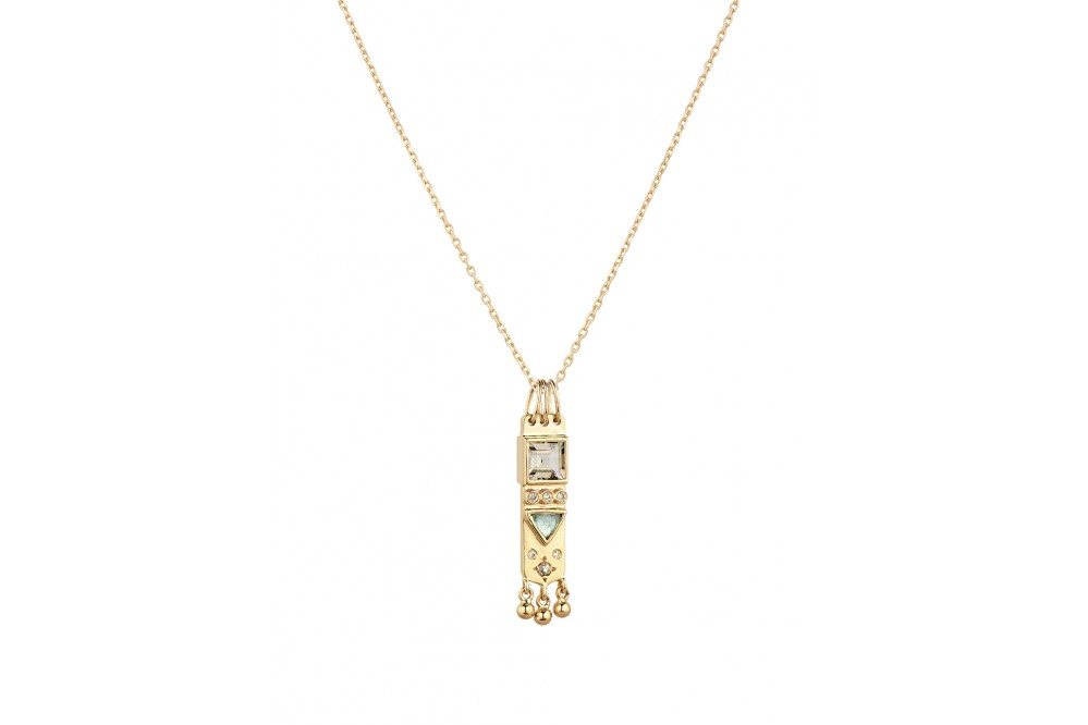 COLLIER TOURMALINE & DIAMONDS