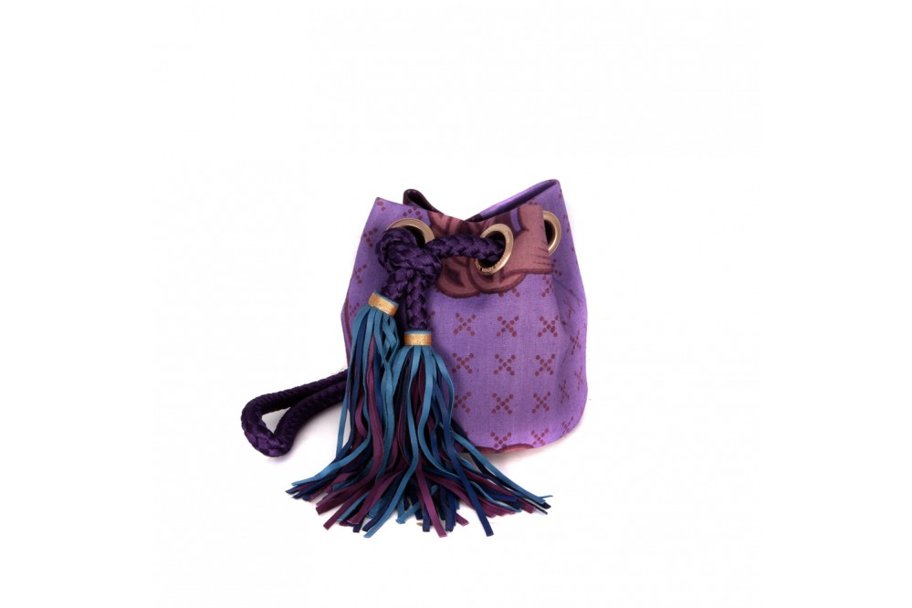 SAC BESACE AFRICAIN VIOLET
