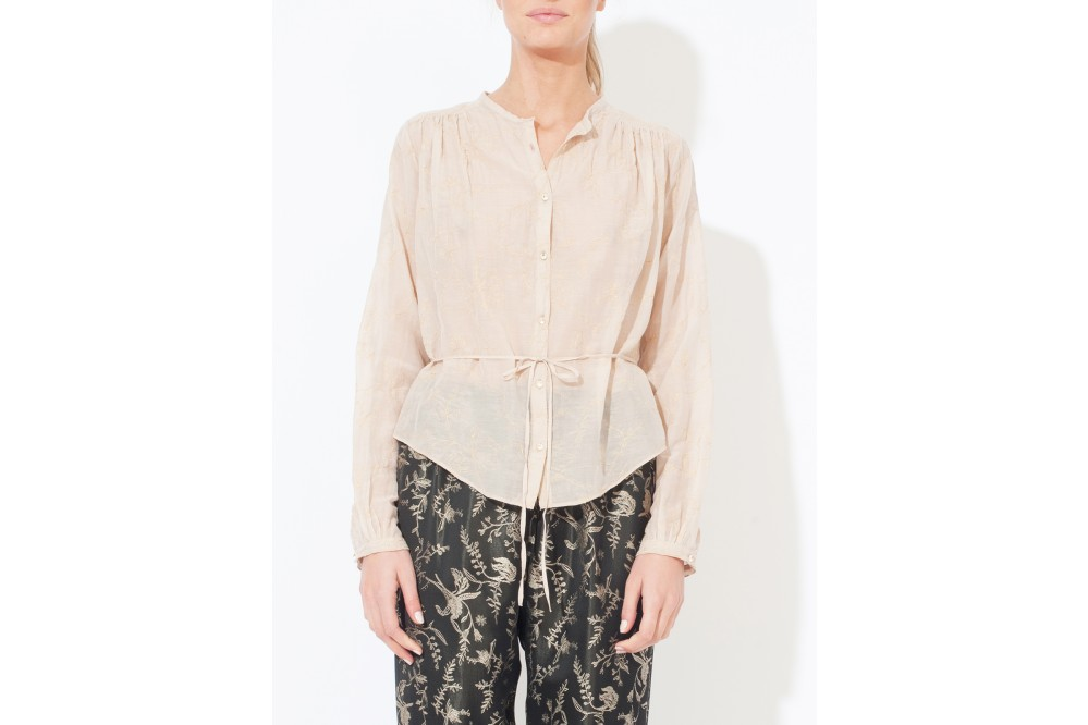 CHEMISE VOILE BRODEE