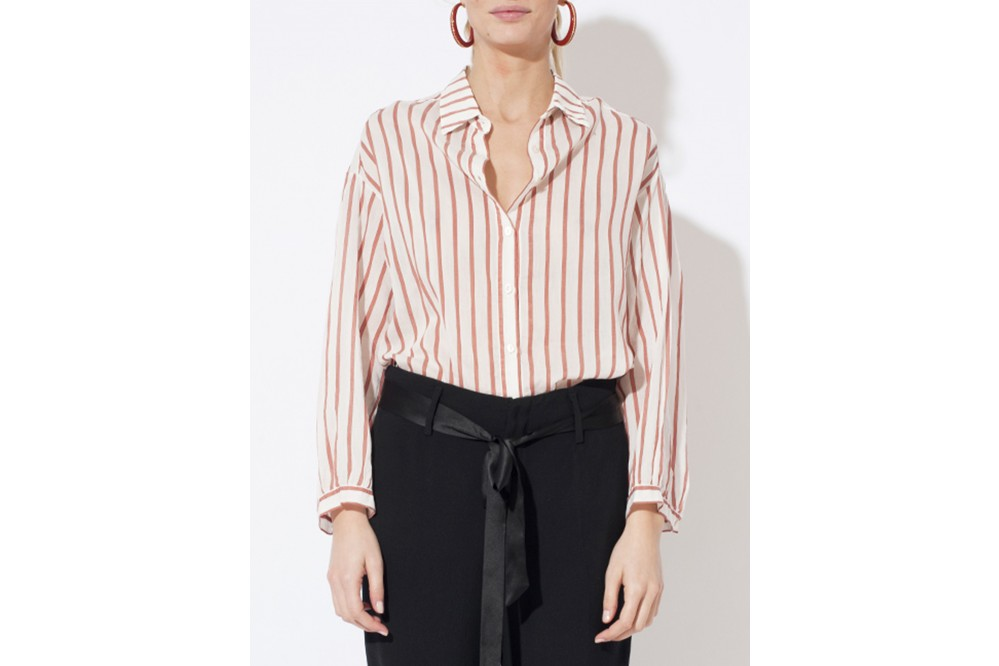 BLOUSE OVERSIZED VOILE