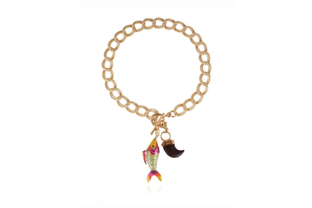 COLLIER AZURE CHARMS GM O