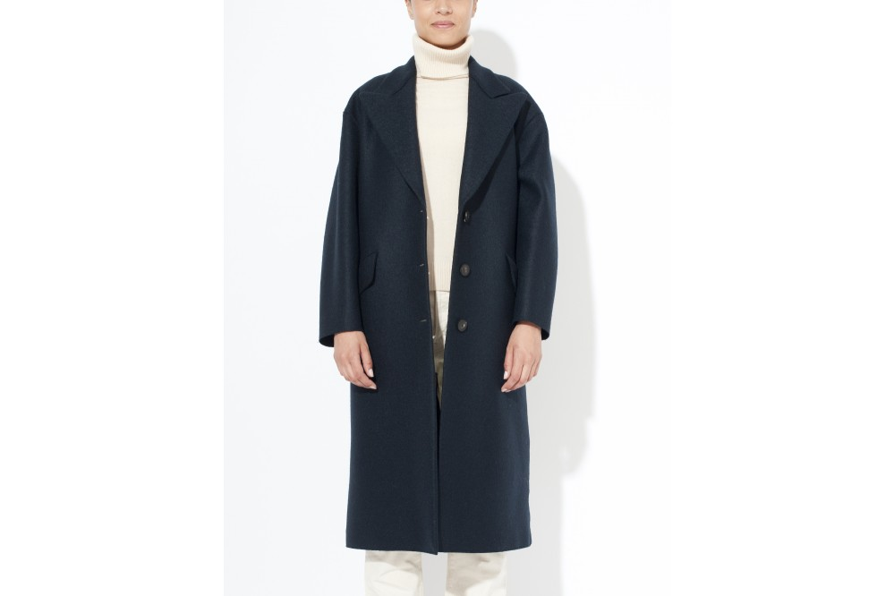 MANTEAU OVERSIZED PRESSED WOOL