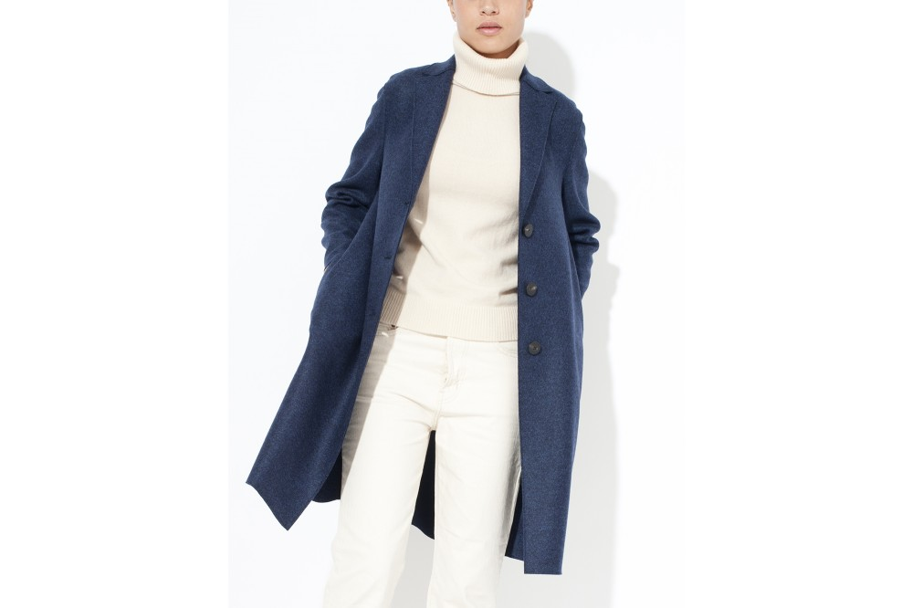 MANTEAU PRESSED WOOL