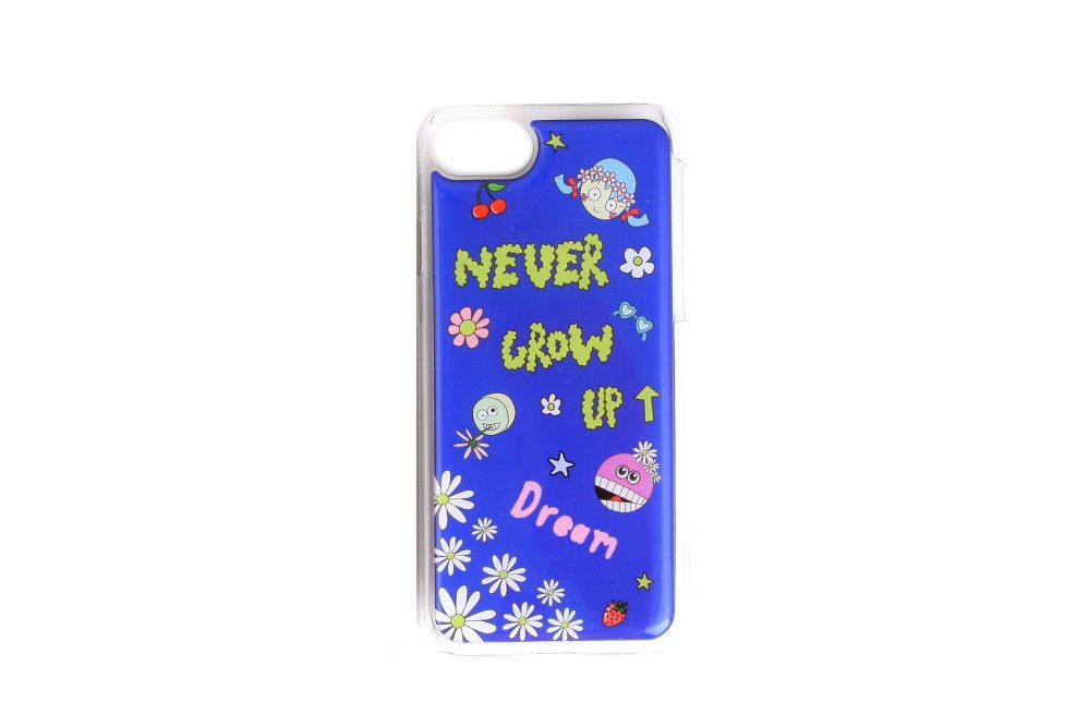 COQUE IPHONE 6+/7+ NEVER GROW UP