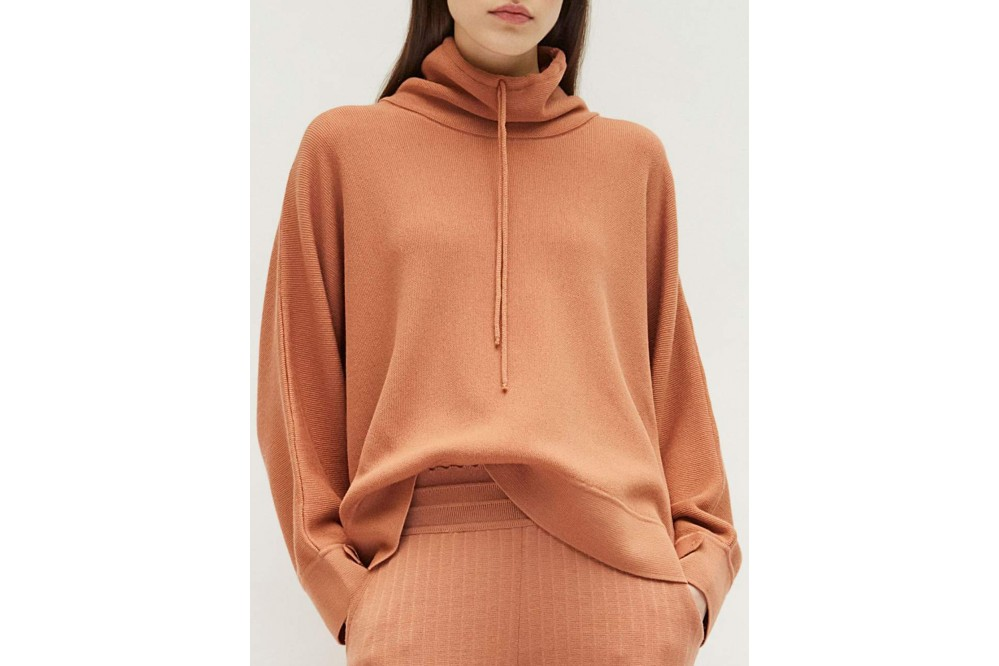 SWEATER FIN COL MONTANT