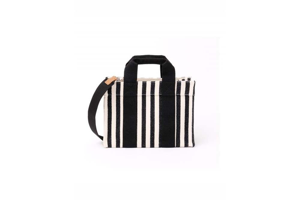 SAC LADY TOTE CHEVRON STRIPE