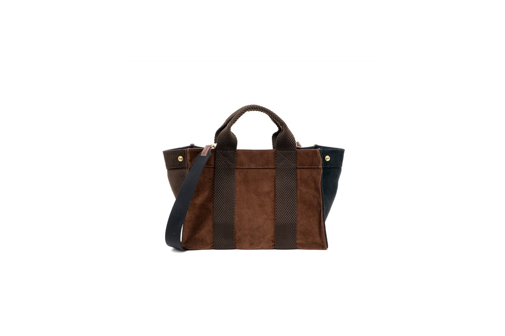 SAC MINI TOTE CORDUROY COPPER